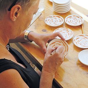 Plateelschilderen / Keramiek decoreren