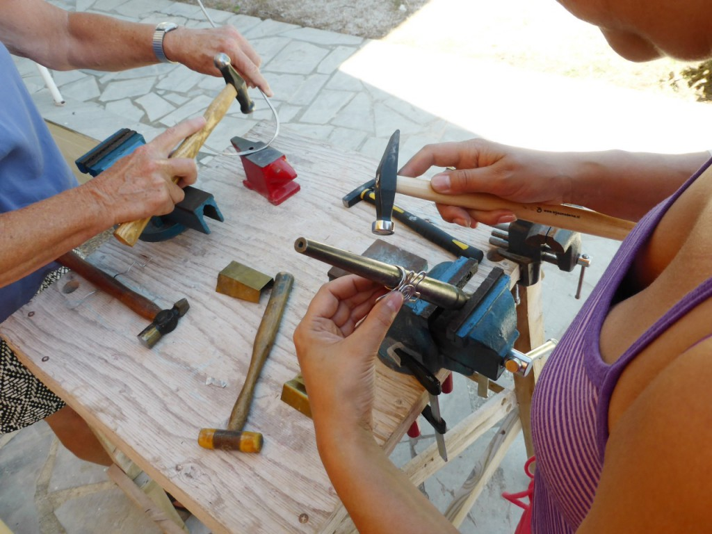 Metalsmithing, jewelry and objects