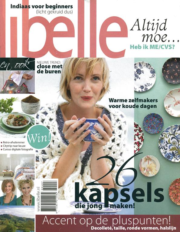 Publicatie in de Libelle (2007)
