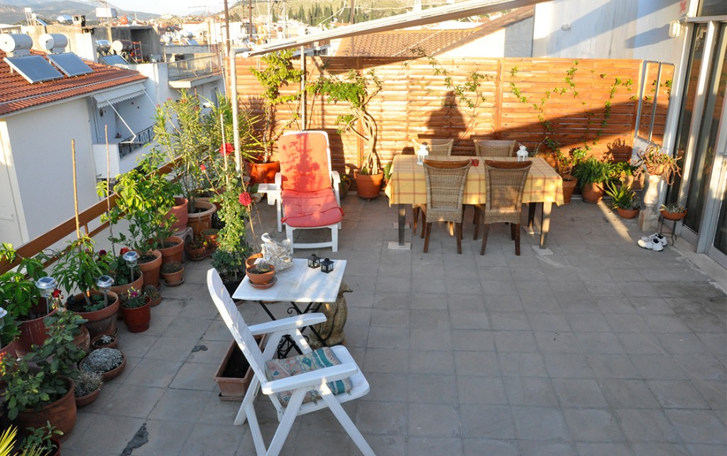 Rental: rooftop studio in Nafplion