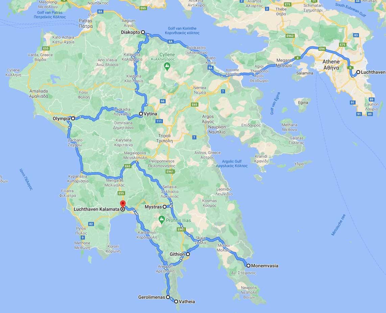 Rondreis-Peloponnesus